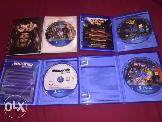 PS Games for SALE or Exchange All in Good Condition السيب -  2