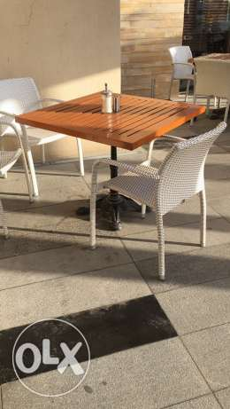 Tables Chairs and Lounge for sale مسقط -  1