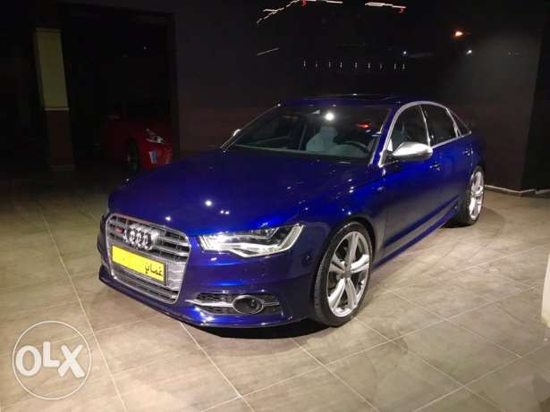 2013 Audi S6 V8 -Very low mileage