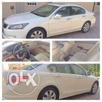 Honda Accord the number one full option 2009 AGENCY Oman first user