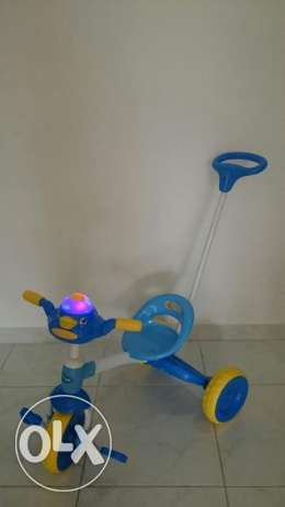 Tricycle with lights and sounds