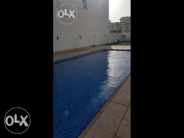 4 bhk with swimming pool brand new villa in azaiba for rent مسقط -  5
