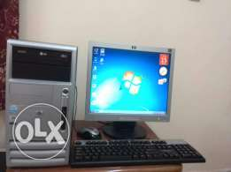 """HP Computer With 19"""""""" LCD Monitor"""