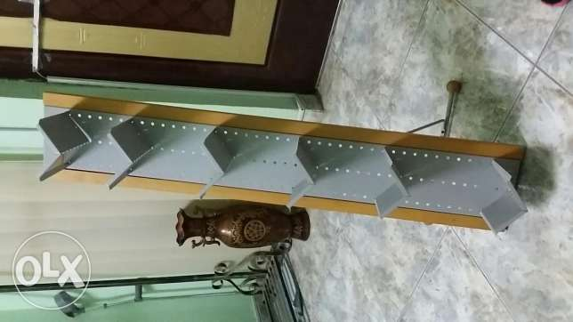 Wooden CD rack stand