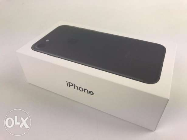Brand new apple iphone 7 jet black 32gb