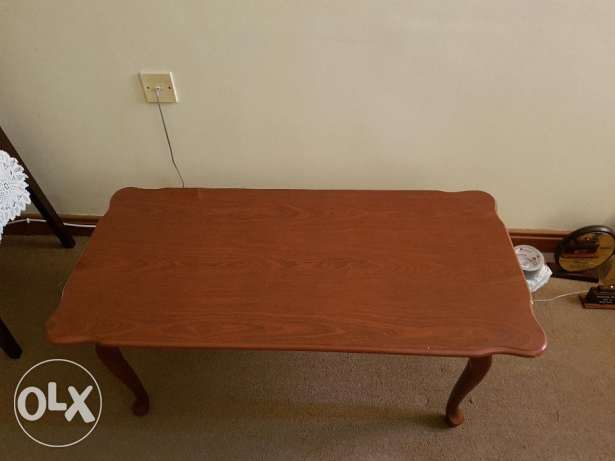 Coffee table with side table (set)