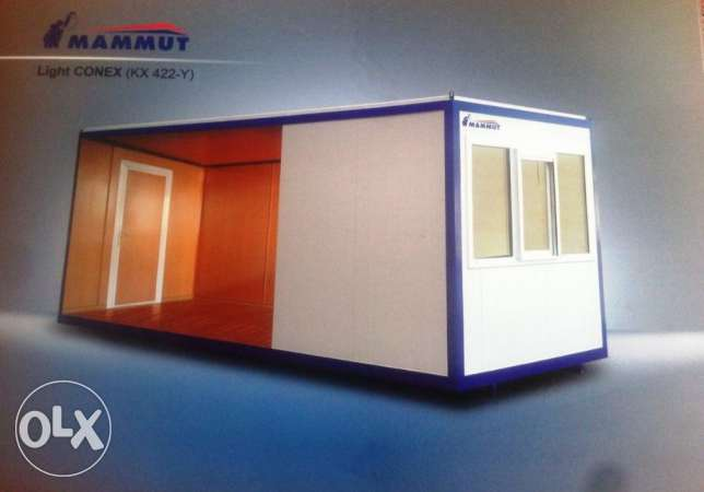 Mammut Portable Cabins 6 * 3 Meter