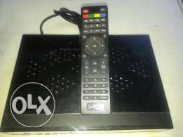 Indian Dishtv Receiver with VC card and remote