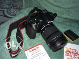 Canon70d with 18-135 lens