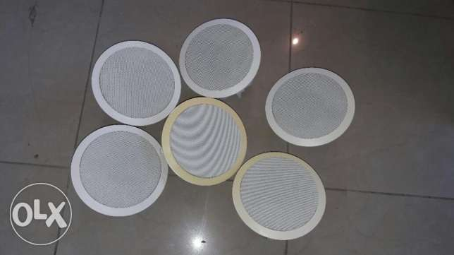 music amplifier celing type spakers(6) مسقط -  1
