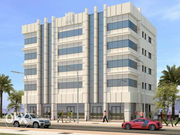 Offices for rent al hail sauth New building