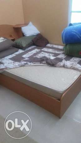 Bed in very good condition for sale مسقط -  2