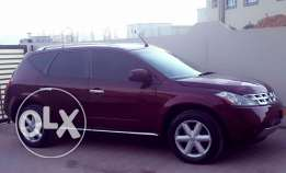 Nissan Murano 2008 نيسان مورانو لون عنابي