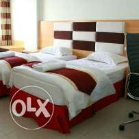 Cheap Double Room Apartment with furnished kitchen and living room
