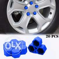 20pcs Silicone Car Wheel Nuts Covers