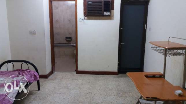 Bathroom attached and Furnished Room available for Bachlors or family