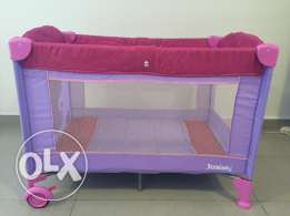 Juniors Travel Cot with Mattress & Carry Bag