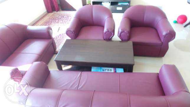 Sofa set 3+2+1+1 , Seven seater مسقط -  1