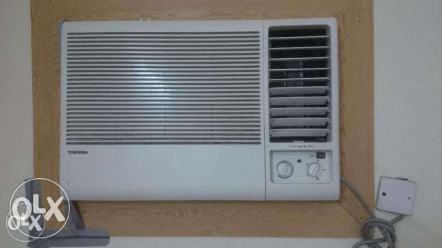 Toshiba 1.5 Ton Window AC with two year compressor warranty