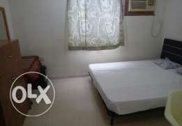 Furnished room wt bathroom and kitchen - AlGhubra
