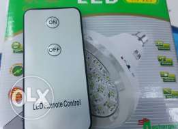 led emergency bulb with remote control