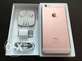 Available unlocked original brand new apple iphone 6s rose gold 128gb