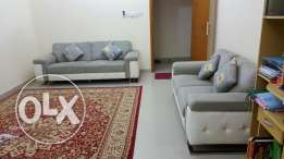Sofa set 2+ 3 seater bought from home centre good condition urgently f