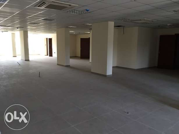 open space office for rent ina good location السيب -  2