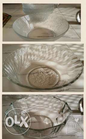 Glass bowls - Never used