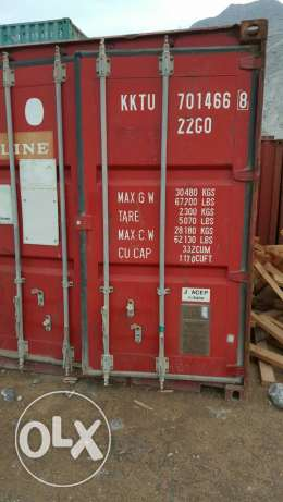 Used container for urgent sale