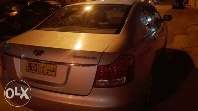 Geely emgrand EC820 excellent car used by expact