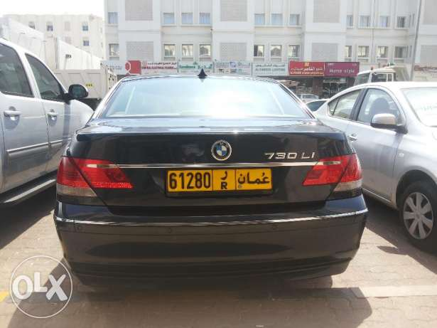 BMW 730 LI 2008 - For Sale - In Very Good Condition NO 1 مسقط -  2
