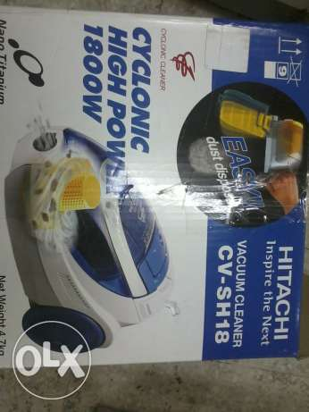 HITACHI 1800 watts vaccum cleaner New unused Thailand make مسقط -  3