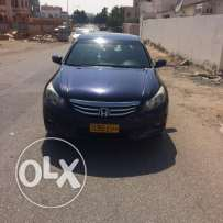 Honda Accord 2012 model V6 The number one slot and skin US imported Fo