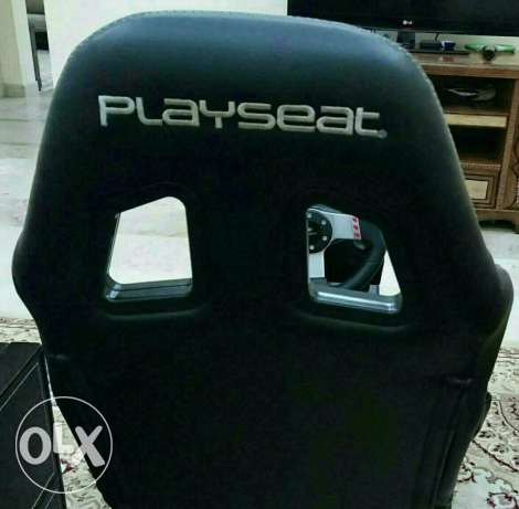 Logitech G27 + Playseat. In perfect condition السيب -  4