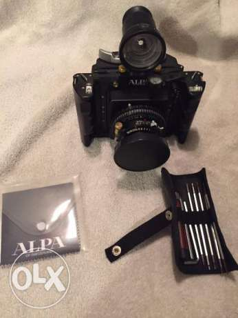 Alpa 12 SWA Rosewood Black Camera, Alpa System Tool Kit Alpa Roll Back