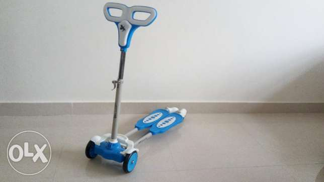 Toy scating scooter