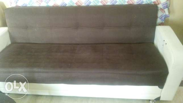 Sofa come bed for sale مسقط -  2
