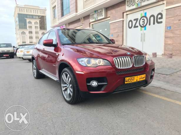 BMW X6 5,0 v8 model 2010 GCC Al Junaibi car