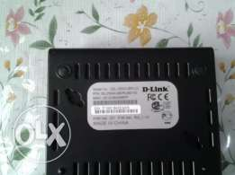 D Link ADSL2 Router and modem