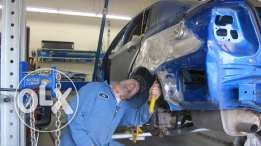 vehicle body and paint worker available