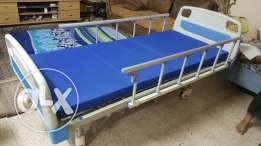 Medical bed with mattress