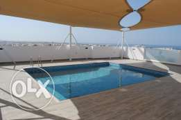 Azaiab - 2 Bedroom Apartment with Pool & Gym For rent