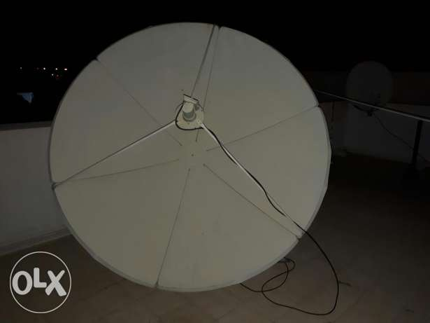 Full HD dish Antenna complete set.