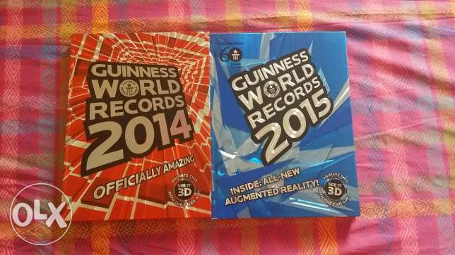 Guinness World record books