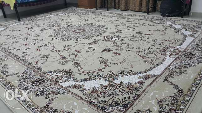 Excellent quality turkish carpet 3×4 very clean for sale - serious buy