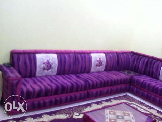Majles with carpet and curtain مسقط -  3