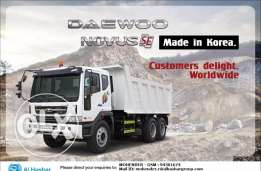 DAEWOO Tipper For Sale