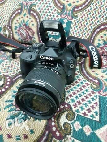 Canon 100D with 18-55mm for sale مسقط -  1