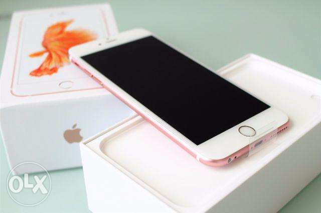 Apple iphone 6s plus 64GB Rose Gold with apple international warranty مسقط -  1
